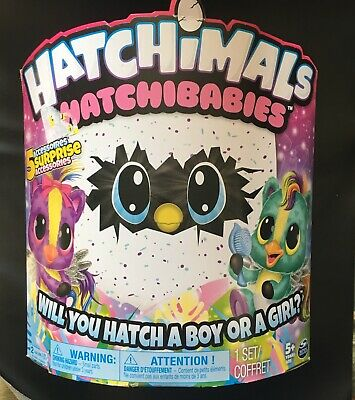 Hatchimals HatchiBabies CheeTree Magical Speckle Egg Will You Hatch Boy Or Girl