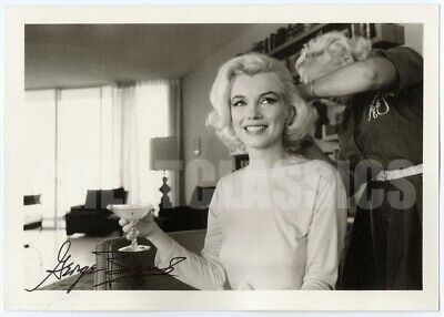 Marilyn Monroe '62 Beautiful Original Dblwt Photograph By George Barris Signed