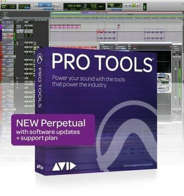 NEW Pro Tools PERPETUAL PROTOOLS Software License 2018 w/ 1 year Support
