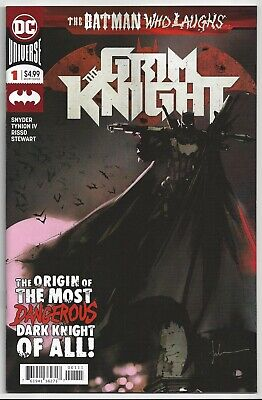 The Grim Knight #1 ~ The Batman Who Laughs ~ Nm/mint 9.8 : Send It To Cgc!