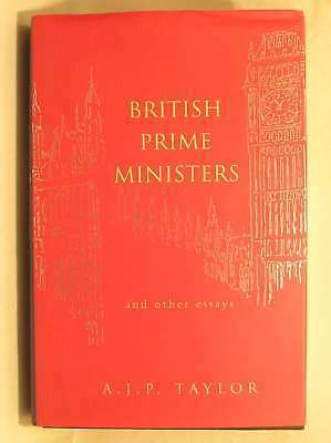 British Prime Ministers and Other Essays (Allen Lane History), Taylor, A. J. P.,