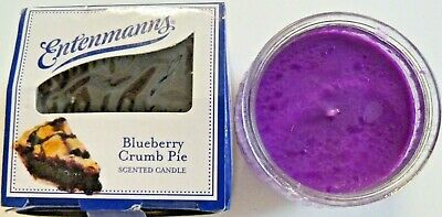 Two Entenmann's Apple Crumb Pie 3oz Scented Candle In Glass Container