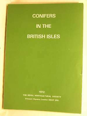 Conifers in the British Isles, Lord Aberconway et al., Very Good Book