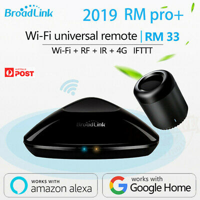 Broadlink RM33 RM Pro+/RM Mini3 Remote Controller Intelligent WIFI+IR+RF Switch