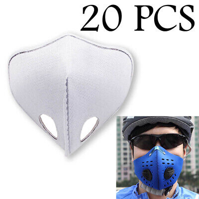 Anti-Pollution Motorcycle Bicycle Bike Mask Carbon Cloth Half Face Mask Filter