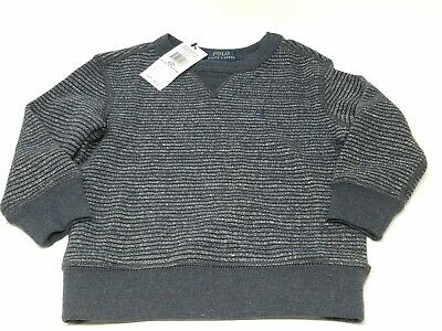 Ralph Lauren Polo Crew Neck Sweater Toddler Size 2/2T NWT