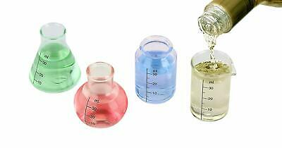 Barbuzzo Lab Shots (Set of 4) - Bring Out Your Inner Nerd, Geek, Chemist, or Mad