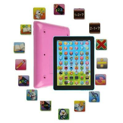 Kids Touch Type Computer Tablet English Learning Study Machine Toy Xmas Gifts