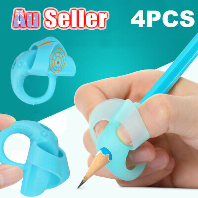 4Pcs Aid Children Posture EU Pencil Holder Writing Pen Grip Correction Tool