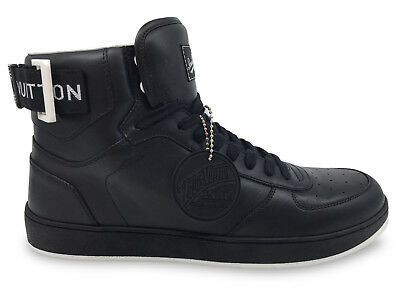 eebdb0241746d New Authentic Louis Vuitton Men s Shoes Rivoli Sneaker Boot 8 - 8.5 US  376