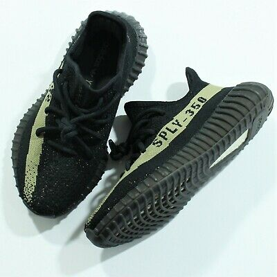 321e2c8961e Adidas Yeezy Boost 350 V2 Core Black Green Size 4 Men s   5.5 Women s