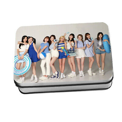 KPOP TWICE Pocari Sweat LOMO CARD 40pcs Polaroid Photocards New in iron Box