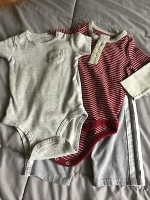baby boy GAP & Carter's 3pc clothes lot, Size 12 months, Sooo Adorable!