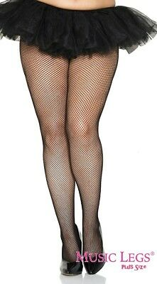 19846a88f03fb Pantyhose Fishnet Music Legs Seamless Black New Women's Queen Fashion 9001Q