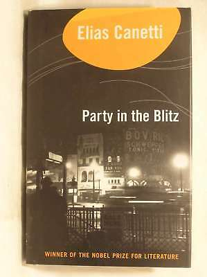 Party In The Blitz, Elias Canetti, Excellent Book