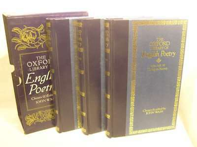 The Oxford Library Of English Poetry Volumes I , Ii & Iii, Chosen And Introduced