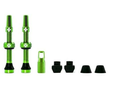 Muc-off tubeless valve kit universeel - groen