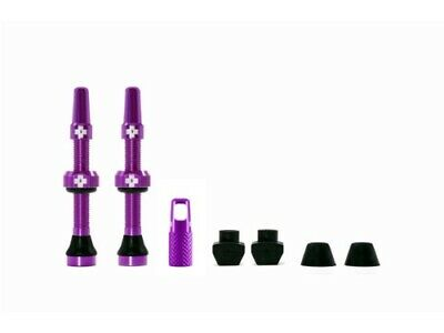 Muc-off tubeless valve kit universeel - paars