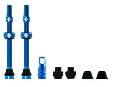 Muc-off tubeless valve kit universeel - blauw
