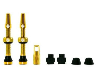 Muc-off tubeless valve kit universeel - goud