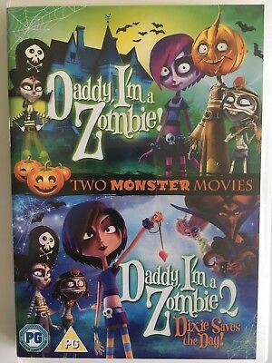 Daddy I'm A Zombie/ Daddy I'm A Zombie 2 (Double Pack) (DVD) Animated Films, R2