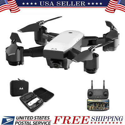 GPS FPV RC Drone with Camera Live Video 1080P HD Quadcopter 120°Wide-Angle Drone