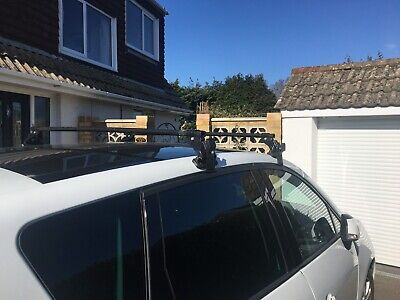 RENAULT MEGANE ALL MODELS DYNAMIC ANTI-THEFT LOCKABLE ROOF BARS