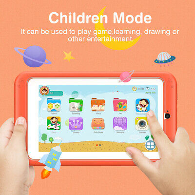 7 Inch Tablet PC Quad Cort Android 6.0 Dual Camera 8GB WIFI BT for Children Kids