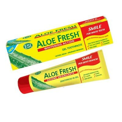 Aloe fresh dentifricio fresh smile 100ml