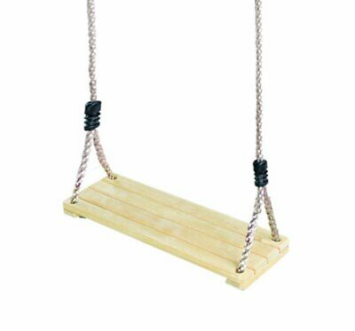 Rebo Children's Replacement Natural Wood Single Swing Seat