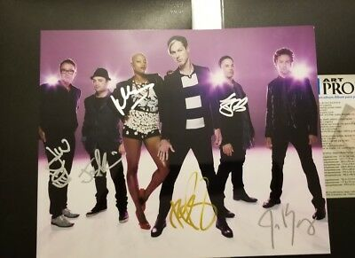 Provided Fitz And The Tantrums Signed Autograph Fitzpatrick 5 11x14 Group Photo Proof Rock & Pop