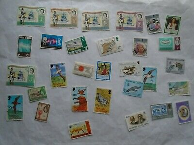 Tristan Da Cunha Postage Stamps  as shown in picture