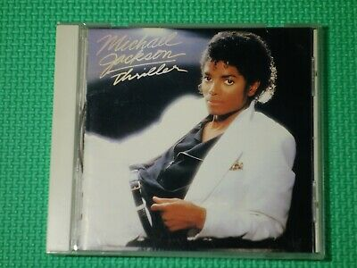MICHAEL JACKSON Thriller 1987 Japan 2st Pres CD SONY 32.8P-224