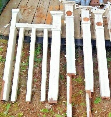 Stair Railing 5 1/2 Posts & 3 Balusters  4x4 Douglass Fir?