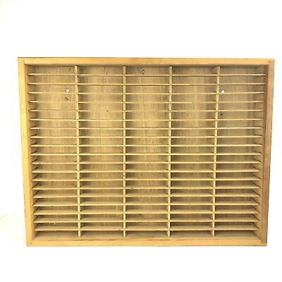 Napa Valley Box Co Wooden Cassette Holder Storage Up To 100 Mountable
