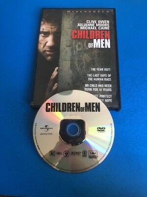 Children Of Men (DVD, 2007) Widescreen - Clive Owen - Julianne Moore - Universal