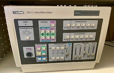 Sima SFX-11 Video Effects Mixer Analog to Digital Signal Converter Conversion