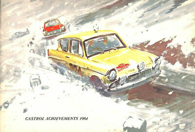 Castrol Achievements 1961 by Gordon Horner
