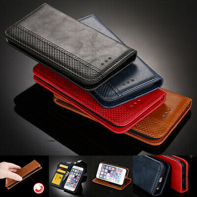 Luxury Magnetic Flip Leather Wallet Stand Case Cover For Huawei NOVA Enjoy