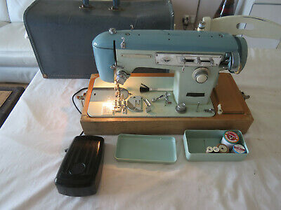 BROTHER SEW-TRIC Semi Industrial Sewing Machine TURQUOISE BLUE + accessories