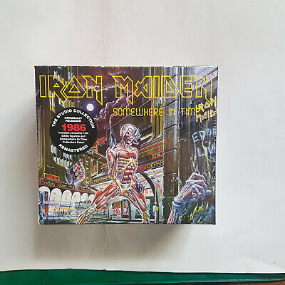 IRON MAIDEN - Somewhere in Time - COLLECTOR'S BOX