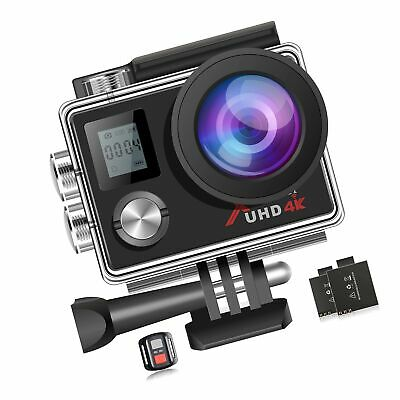 Campark ACT76 Action Camera 4K Ultra HD WiFi Waterproof DV Camcorder Sports C...