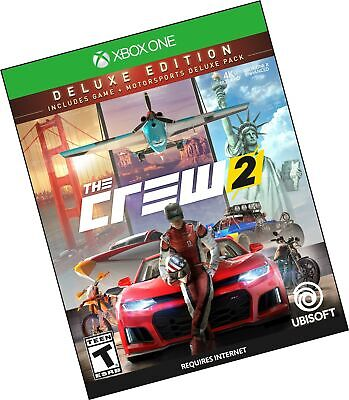 The Crew 2 Deluxe Edition - Xbox One Disc