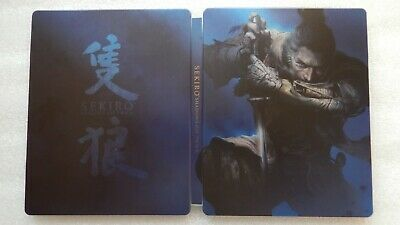 Sekiro Shadows Die Twice Steelbook ONLY PS4/XBOX ONE (PLEASE READ, NO GAME)