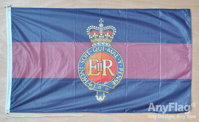 British Army Household Cavalry Regt Polyester Flag Bunting 5m with 14 Flags