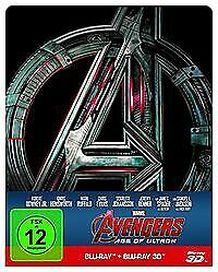 Avengers: Age of Ultron - Steelbook Limited Edition 3D/2D Blu-ray  NEU/OVP