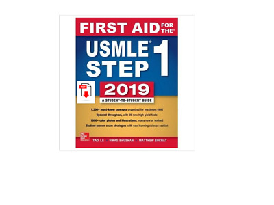 First Aid for the USMLE Step 1 2019, Twenty-ninth edition 29th Edition p.d.f