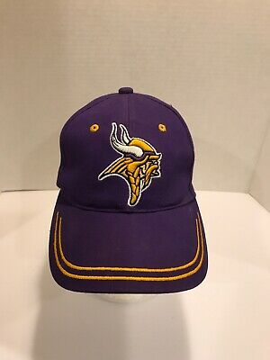 7dfdfc5d MINNESOTA VIKINGS CAP NFL Team Apparel Hat Embroidered Logo - $9.99 ...