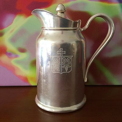 Reed & Barton / Vintage Silver Soldered Insulated Pitcher / 300 IP #132