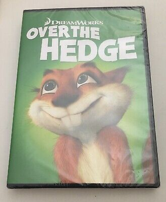 ❤️Over The Hedge: Comedy Animated Movie DVD - FAST + FREE SHIPPING!!❤️